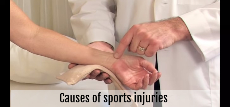 Causes of sports injuries