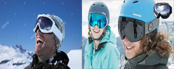 How to wear ski goggles