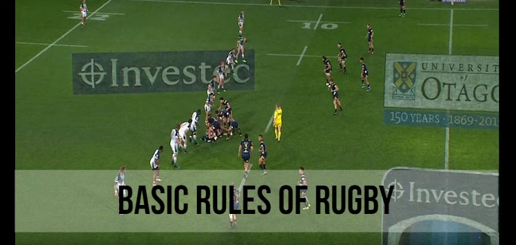 Basic rules of rugby