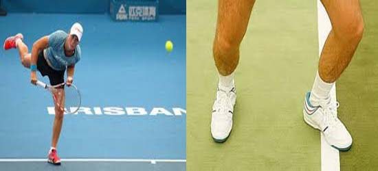 What is a foot fault in tennis